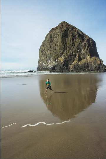 The 2018 Family Fun Awards by Parents Magazine features our son playing on Cannon Beach