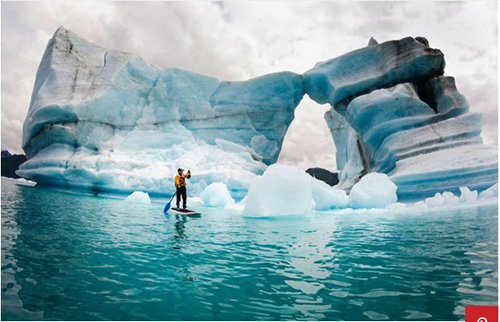 tripsavvy travel blog uses paddler image for Fun things to do in Alaska.